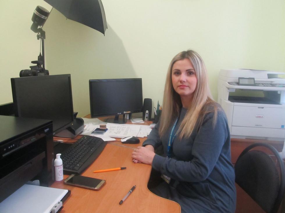 завідувачка сектору Катерина Новосад