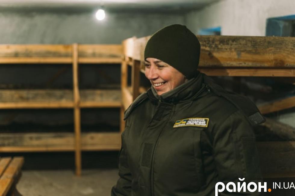 Головна ліснича Володимир-Волинського лісгоспу 39-річна Наталія Козій