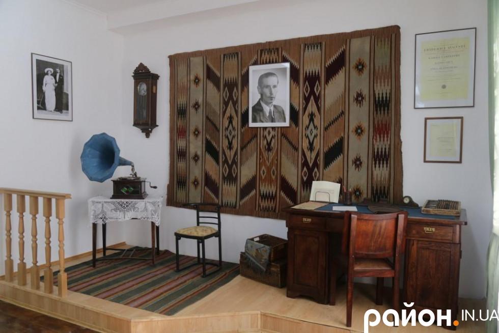 Експозиція у музеї  В'ячеслава Липинського в Затурцях