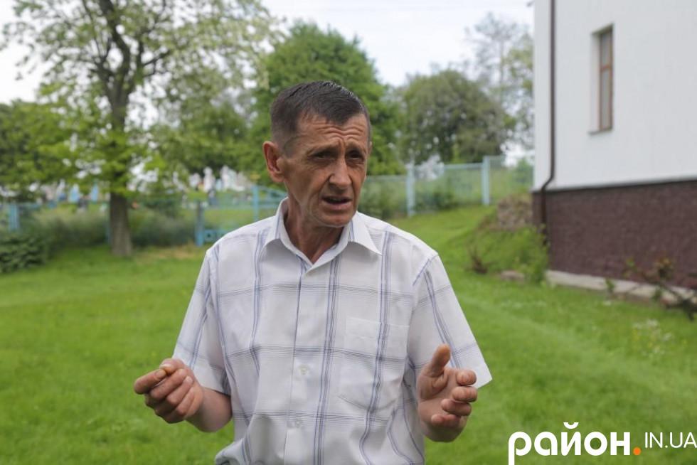 Місцевий вчитель історії Ігор Баран може розповісти багато цікавого