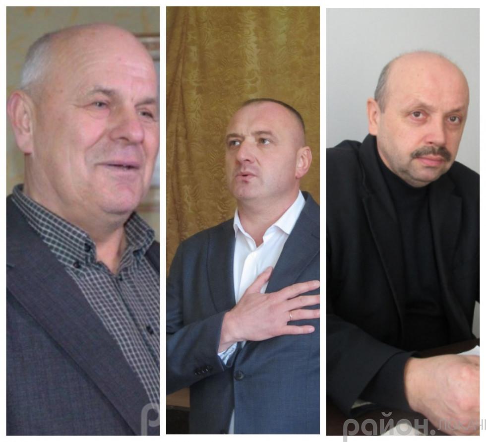 Володимир Патійчук, Юрій Ковальчук, Василь Демедюк